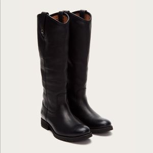 Black Frye Melissa Button Boots - LIKE NEW!